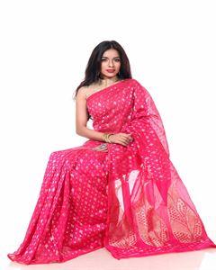 Picture of Half Silk  Saree - TSG-1310