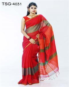 Picture of Pure cotton saree - TSG-4031