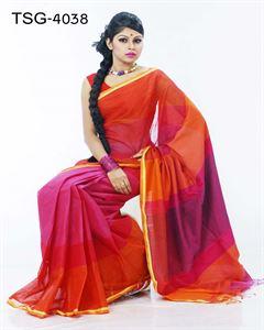 Picture of Pure cotton saree - TSG-4038