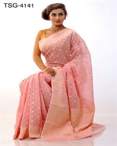 Picture of Pure cotton saree - TSG-4141