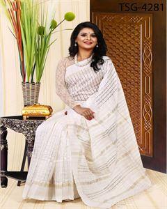 Picture of Half Silk Saree - TSG-4281