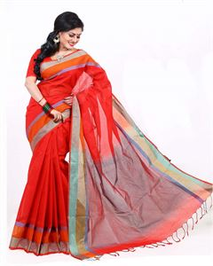 Picture of Pure Cotton Saree - TSG-5190