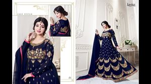 Picture of BEAUTIFUL STYLISH GEORGETTE WITH EMBROIDERY WORK salwar kameez suit  ayesha 015