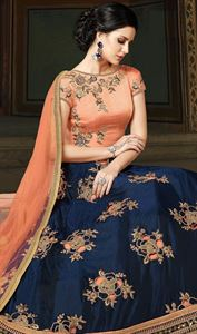 Picture of  georgette with Embroidery Floor Length Designer salwar suit   sonal 027