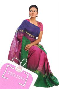 Picture of  Pure Cotton Saree - TSG-2019