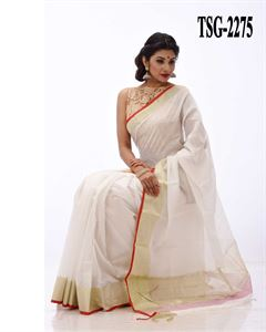Picture of  Pure Cotton Saree - TSG-2275