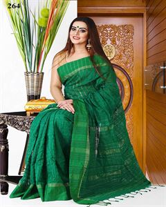 Picture of  Half Silk Kuta Saree - TSG-4264