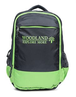 Picture of Woodland Backpack 122C92 (LGREEN/NAVY)