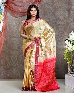 Picture of  Soft silk saree -TSG-9291