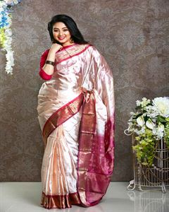 Picture of  Soft silk saree -TSG-9299