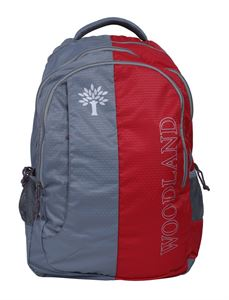 Picture of Woodland Backpack 123629 (GREY/RED)