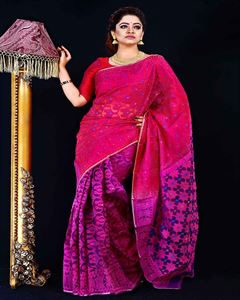 Picture of  Moslin Jamdani Saree -TSG-9304