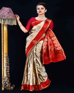 Picture of  Soft silk saree -TSG-9305